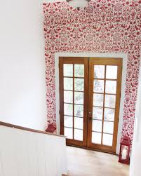 Removable Wallpaper Tiles by Installing Removable Wallpaper Hygge House