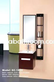 Wooden Mirrored Bathroom Cabinets Wooden Bathroom Cabinet With Mirror Chaseblackwell Co
