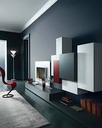minimal living room design with tv unit fernsehwand pinterest