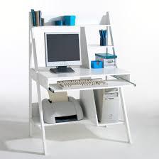 Compact Computer Desk Meeting Compact Computer Desk White La Redoute Interieurs La