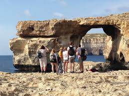 Azure Window Collapses Stacks On Stacks On Sea Stacks The Environmental Dynamics Lab Edl