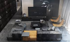 dark apartment design style theme and ideas by yø dezeen