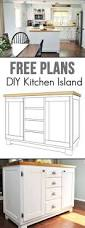 Kitchen Island Cabinet Base by Easy Building Plans Build A Diy Kitchen Island With Free Building