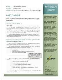portfolio sample renewal fundraising letter st elizabeth