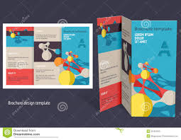 brochure template free creative brochure templates free 3 best sles templates