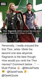 25 best memes about thor 2011 thor 2011 memes