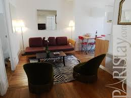 two bedroom apartment for rent vacation tour eiffel 75007 paris living room