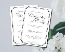 wedding invitations printable template wedding invitations template