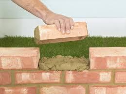 how to build a brick garden wall brick garden garden walls and
