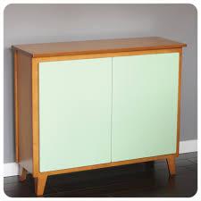 modern credenza cabinet mid century modern design in blonde