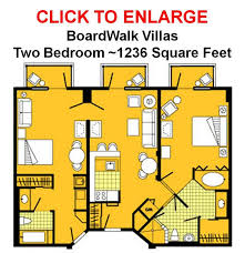 disney boardwalk villas floor plan boardwalk 2 bedroom villa animewatching com