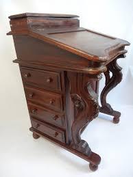 Pictures Of Antique Desks Rare Davenport Desk Wood Antique Captain U0027s Ship Writing Desk