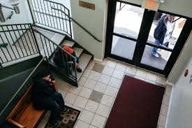 after ice stakes out a church homeless shelter charities worry