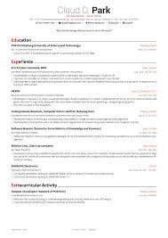 Latex Template Resume Resume Template Best Cv Format Formats Free Samples Examples