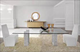 Narrow Kitchen Table Dining Room Solid Wood Dining Table White Round Extending Dining