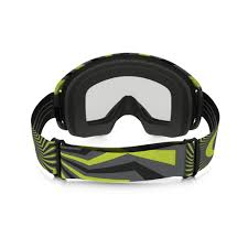 oakley motocross goggles oakley o2 mx motocross goggle rpm gunmetal green oo7068 03