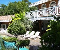 chambre hote landes villa avec piscine au domaine du golf formation à seignosse