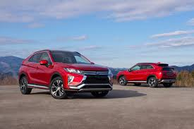 mitsubishi crossover models mitsubishi plays qashqai meet the new 2018 eclipse cross by car