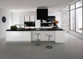 meilleur site de cuisine grande cuisine blanche en u de chez gicinque moderne design