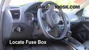 2011 Audi Q5 Interior Interior Fuse Box Location 2009 2016 Audi Q5 2010 Audi Q5