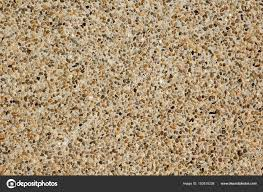 close up of an exposed aggregate concrete finish u2014 stock photo