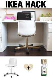 Ikea Hack Office Desk Ikea Hack Make The 20 Snille Chair Look Like An Expensive Office