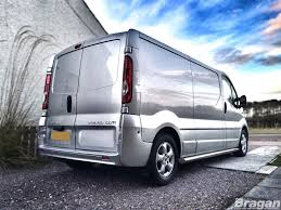 to fit 02 14 vauxhall opel vivaro lwb stainless steel side bars