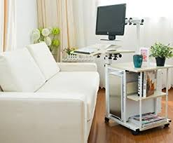 computer table for couch unho lazy computer trolley desk pc table sofa bed side computer desk