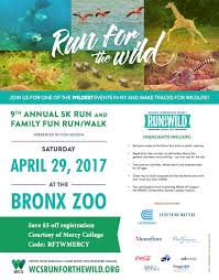 Bronx Zoo Map Join Mercy College At The Run For The Wild At The Bronx Zoo On