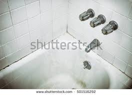 Mold In Bathtub Filtered Image Dirty Old Bathtub Motel Stock Photo 501516292