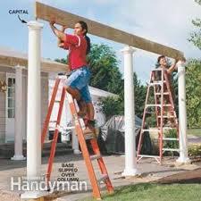 Building A Arbor Trellis How To Build A Pergola Pergola Plans U2014 The Family Handyman