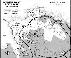 Frost Line Map Odiorne Point State Park Maplets