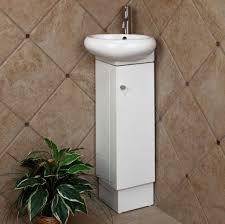 bathroom really small corner bathroom vanity with vessel sink and