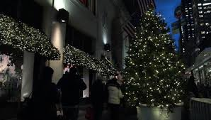 prague czech republic december 2014 christmas decorations on