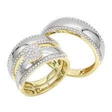 Wedding Ring Sets His And Hers by His U0026 Her Sets Wedding Rings For Less Overstock Com