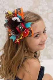 thanksgiving hair bows buy colorful dot autumn fall thanksgiving the top