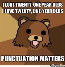Punctuation Meme - punctuation pedobear by william ramey 549 meme center
