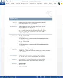 How To Insert A Resume Template In Word Starting Off Right Templates And Built In Content In The New Word