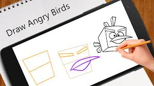 learn draw angry birds android apps google play