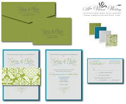 blue and silver wedding invitation u2013 a vibrant wedding