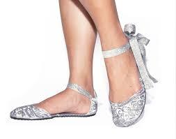 silver foldable ballet flats shoes wedding ideas pinterest