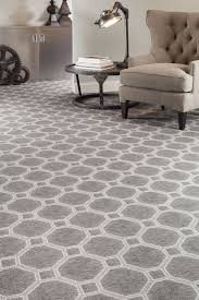 Milliken Area Rugs by Hexagon Patterned Carpet Gray Bold Flooring With Neutral