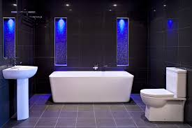 lighting ideas for bathroom marvelous black bathroom lighting popular led design and in tiles