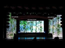 Curtain Led Display Slim P6 25 Flexible Led Video Screen Indoor Rental Curtain Led