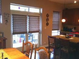 Blinds For French Doors Lowes Endearing 70 Roman Shades For Sliding Doors Decorating