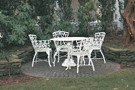 White Patio Furniture Sets New Wrought Iron Patio Furniture Sets Jacshootblog Furnitures