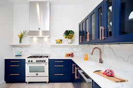 navy blue kitchen cabinet design navy blue kitchen cabinets 3 stunning blue kitchen