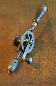 visit us vintage hand drill woodworking carpentry tool egg beater