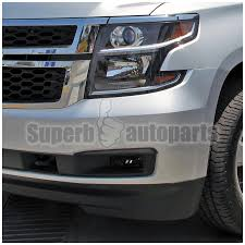 2017 chevy tahoe fog light kit 2015 2017 chevy suburban tahoe smoke lens style fog lights w switch