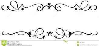 ornamental clipart fancy pencil and in color ornamental clipart